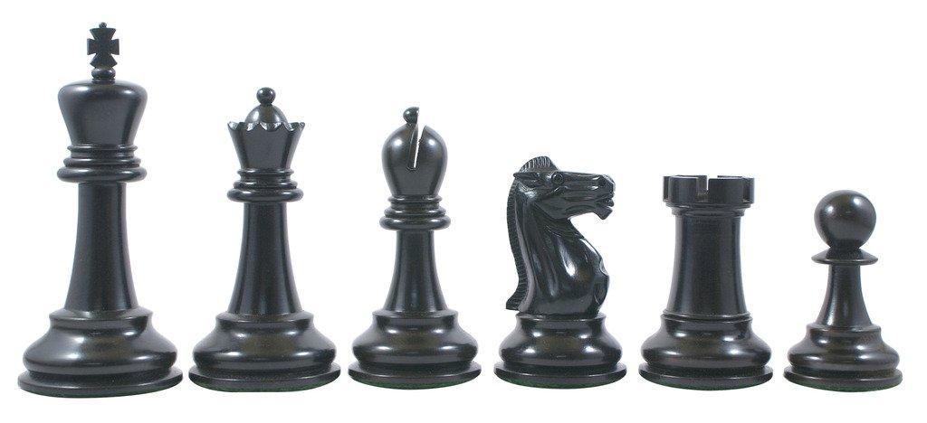 Jaques Reproduction 1870-75 Edition Staunton 4.4'' Premium Chess Set by Staunton Empire (Image #3)