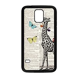 DaojieTM Generic New Arrival Giraffe High Quality Hard Plastic Shell Case Cover for Samsung Galaxy S5 I9600