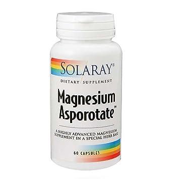 Magnesium Asporotate 400mg Solaray 60 VegCaps