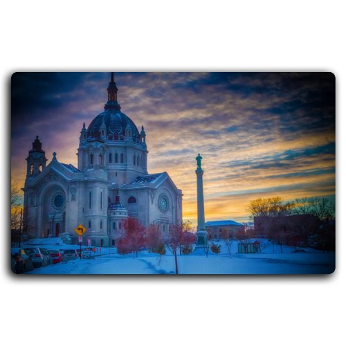 USA Temples St Paul's Cathedral Saint Paul Minnesota Cities Furniture & Decorations magnet fridge magnets