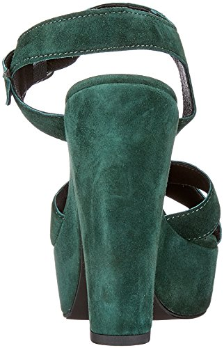 Mentor Women's Pump Sandal Platform Heels Green (Green 040) best store to get online sale genuine discount amazon discount choice WW98C
