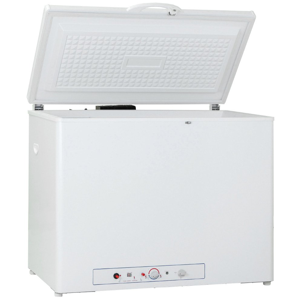 Generic 110V LPG Propane Gas Absorption Gas Chest Freezer, 7.1 Cu Ft,White