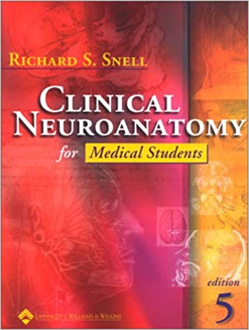 clinical neuroanatomy for medical students periodicals fifth edition - Neuroanatomy Coloring Book