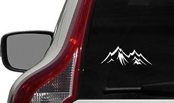 Amazoncom Mountain Shape Version  Car Vinyl Sticker Decal - Custom car bumper stickers