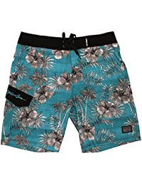 Maui and Sons Mens Surf Swell 4 Way Stretch Boardshort