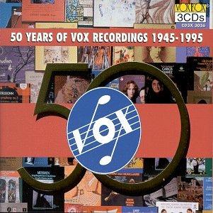 50 Years of Vox Recordings 1945-1995 (Metro Master)