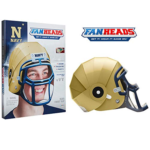 Fan Heads - Navy Midshipmen Helmet