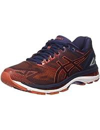 Gel-Nimbus 19 [T700N-5806] Men Running Shoes Peacoat/Red Clay