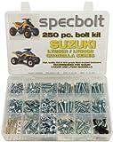 250pc Specbolt Suzuki LT250R Quadzilla ATV Bolt Kit for Maintenance & Restoration OEM Spec Fasteners Quadracer LT500R LTR250 LT 250 500 R