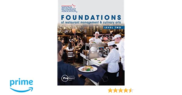 foundations of restaurant management culinary arts level 2