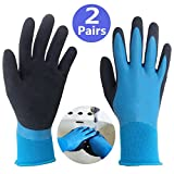 Best Waterproof Gloves - Hanhelp Double Coated Cut Resistant Gloves, Safety Gloves Review