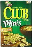 Keebler Club Mini Crackers, Multi-Grain, 11 Ounce (Pack of 8)