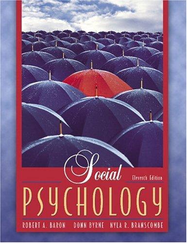 Social Psychology (MyPsychLab Series)