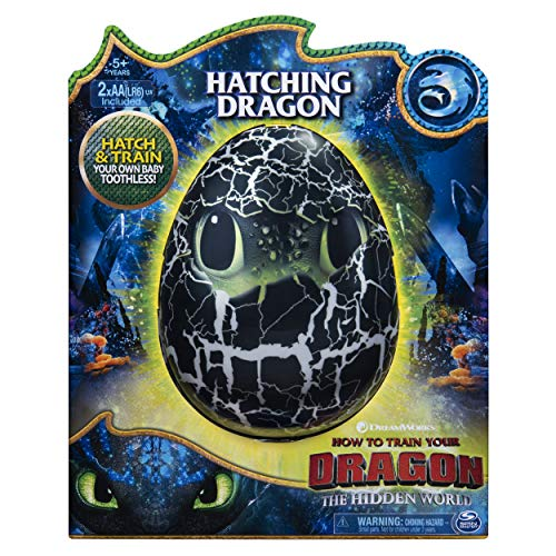 51QX9S%2BHGaL - Dreamworks Dragons, Hatching Toothless Interactive Baby Dragon with Sounds, for Kids Aged 5 & Up