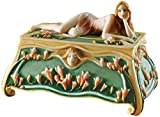 Design Toscano Flower Princess Art Nouveau Sculptural Jewel Box