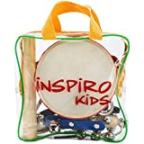 Music Instruments Kids Best Deals - Inspiro Kids Musical Instruments & Percussion Toys Rhythm Band Value Set
