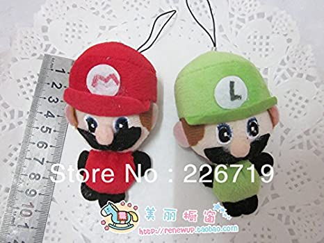 Amazon.com: Wholesale 8 cm longitud Mini Mario Bros Plush ...
