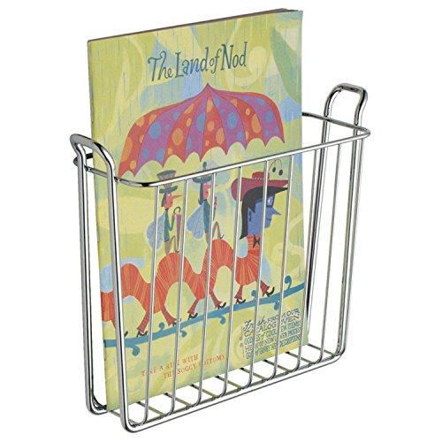 InterDesign Wall Hung Mount Magazine Storage Organizer Holder Rack