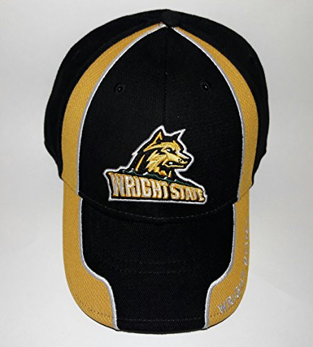 Wright Hat Embroidered - Signa.. WSU Wright State University Raiders Adjustable Hat 3D Embroidered Cap
