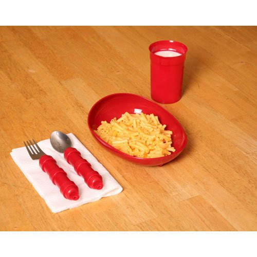Redware Tablewear Set Basic by Maddak Inc.