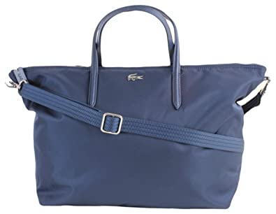 f31216d89b29 Lacoste Womens Large Shopping Bag - Dress Blue  Amazon.co.uk  Shoes ...