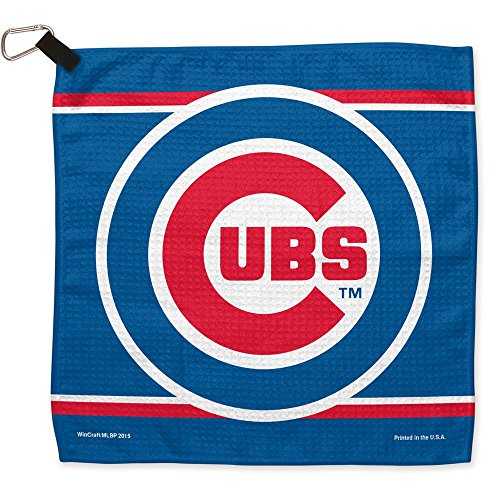 MLB Chicago Cubs Waffle Towels, 13 x 13