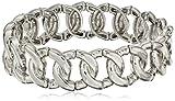 Best 1928 Jewelry Bracelets - 1928 Jewelry Silver-Tone Link Stretch Bracelet Review