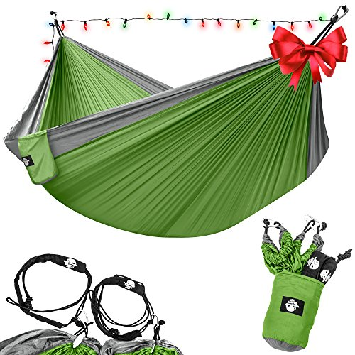 Double Hammock - Lightweight Parachute Portable Hammocks