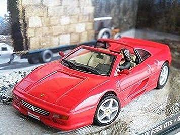James Bond Ferrari F355 Gts 1 43rd Car Goldeneye Model Pierce Brosnan K8967q Amazon Co Uk Toys Games