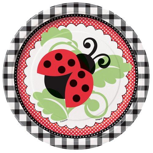 Ladybug Dessert Plates, 8ct]()