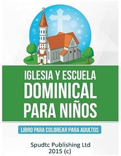 Iglesia y Escuela Dominical para niños: Libro para colorear para niños (Southern Sotho Edition