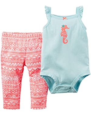 Bodysuit Pant Sets, Coral