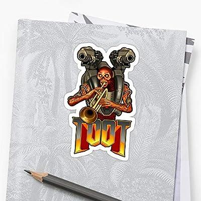 BreathNenStore Doom - Toot Doom Eternal Stickers (3 Pcs/Pack) 9241001126567: Kitchen & Dining