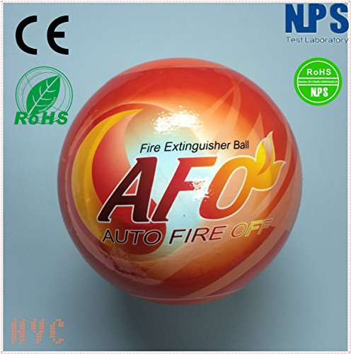 Fire Extinguisher Ball Self-activation -Fire Suppression Device Automatic Fire Extinguisher