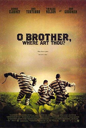 O Brother Where Art Thou? Poster 27x40 George Clooney Tim Blake Nelson John Turturro