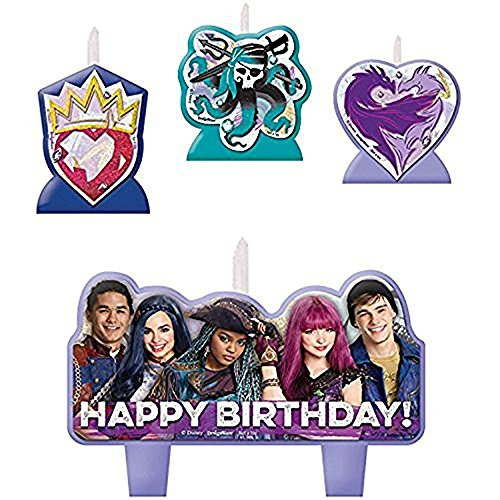 amscan Disney Descendants 2 Birthday Candle Set]()