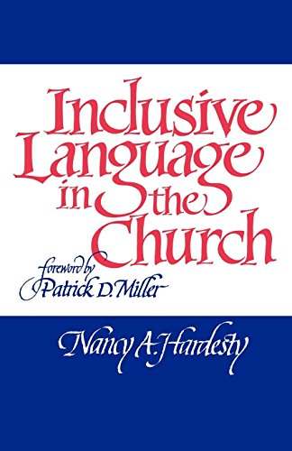 Inclusive Language in the Church by Westminster John Knox Press