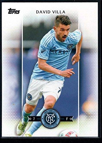 2017 Topps MLS Major League Soccer #100 David Villa New York City FC (David New York City Villa)