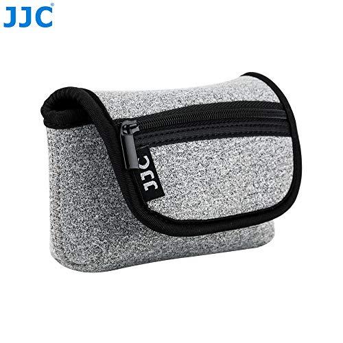 JJC OC-R1BG Dark Gray Neoprene Camera Case Campact Sony RX100 II III IV V VI Series, Olmypus TG Series etc