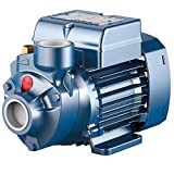 Pedrollo Booster Water Pump — 634 GPH, 1/2 HP, 115 Volts, Model# PKm60