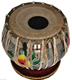 Queen Brass Tabla Drum-Designer_Brass Bayan-Shesham Wood_Dayan- Bag/Hammer/Book/Cushion