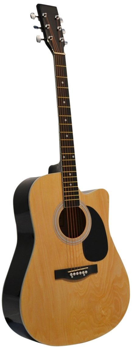 Natural Acoustic Guitar, Directly Cheap Blue Medium Guitar Pick