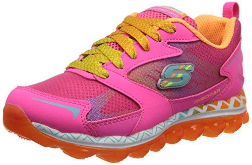 Skechers multi Fille nbsp;flyaway Pink Basses Air Baskets Neon OrfqvOU