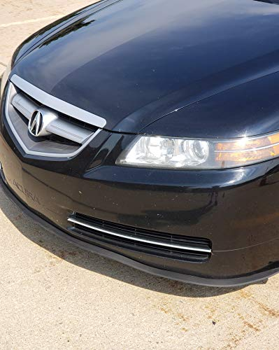 2001 Volkswagen Passat Bumper - TRUE LINE Automotive Premium Rubber Front Bumper Ground Effect Molding Lip Trim Kit