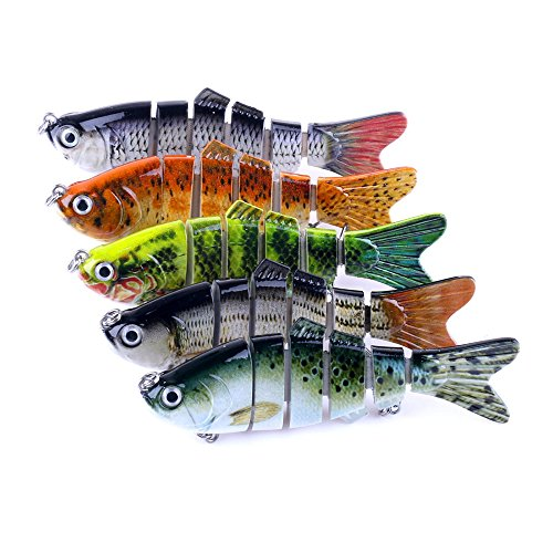 Laimeng , Wobblers Laser Minnow Fishing Lures Crank Bait Hooks Bass Tackle