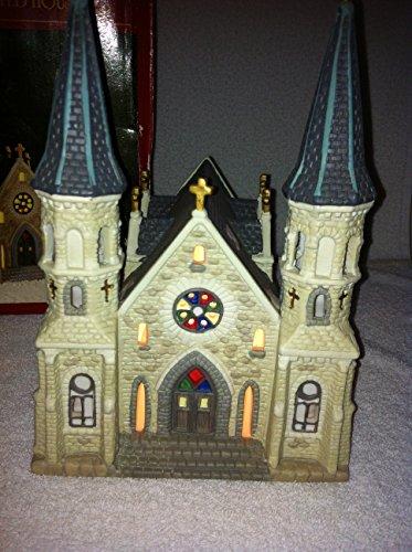 Dickens Keepsake Porcelain Lighted Church