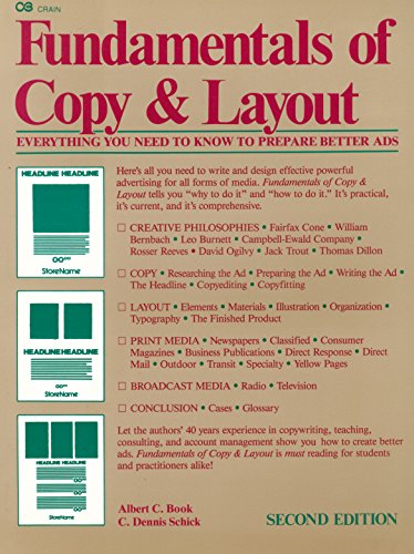 Fundamentals of Copy and Layout by Natl Textbook Co Trade