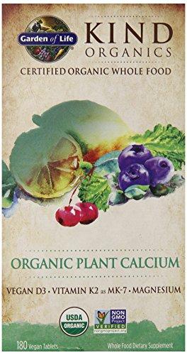 Jardin de calcium vie Kind Organics usine, 180 comprimés organiques