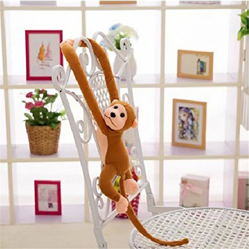 Soft plush Long Arm Stuffed Animal Toys Cute hanging Monkey Doll Gift for Baby Kids