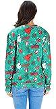RAISEVERN Unisex Ugly Christmas Cow Sweatshirt